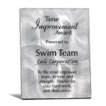 Silver Metal Panel with Lacquer Employee Awards