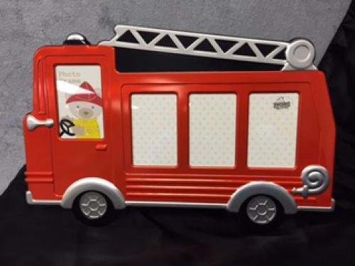 Red Fire Truck Photo Frame Gift Awards
